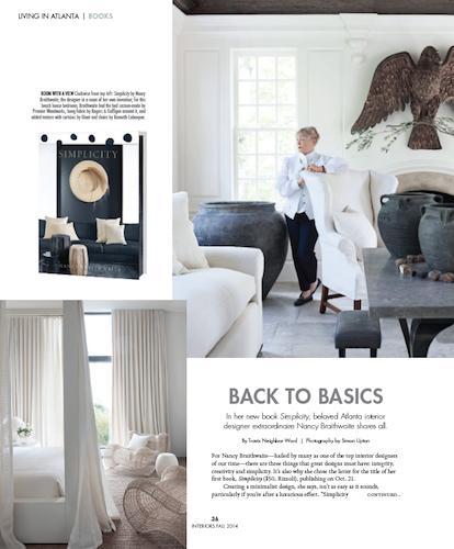 Nancy Braithwaite - Travis Neighbor Ward interview about design